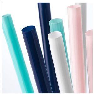 9 Bags of 100 IKEA straws-900 straws!